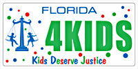 Kids Deserve Justice Specialty Plate