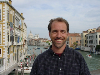 Me on the Accademia Bridge in Venice